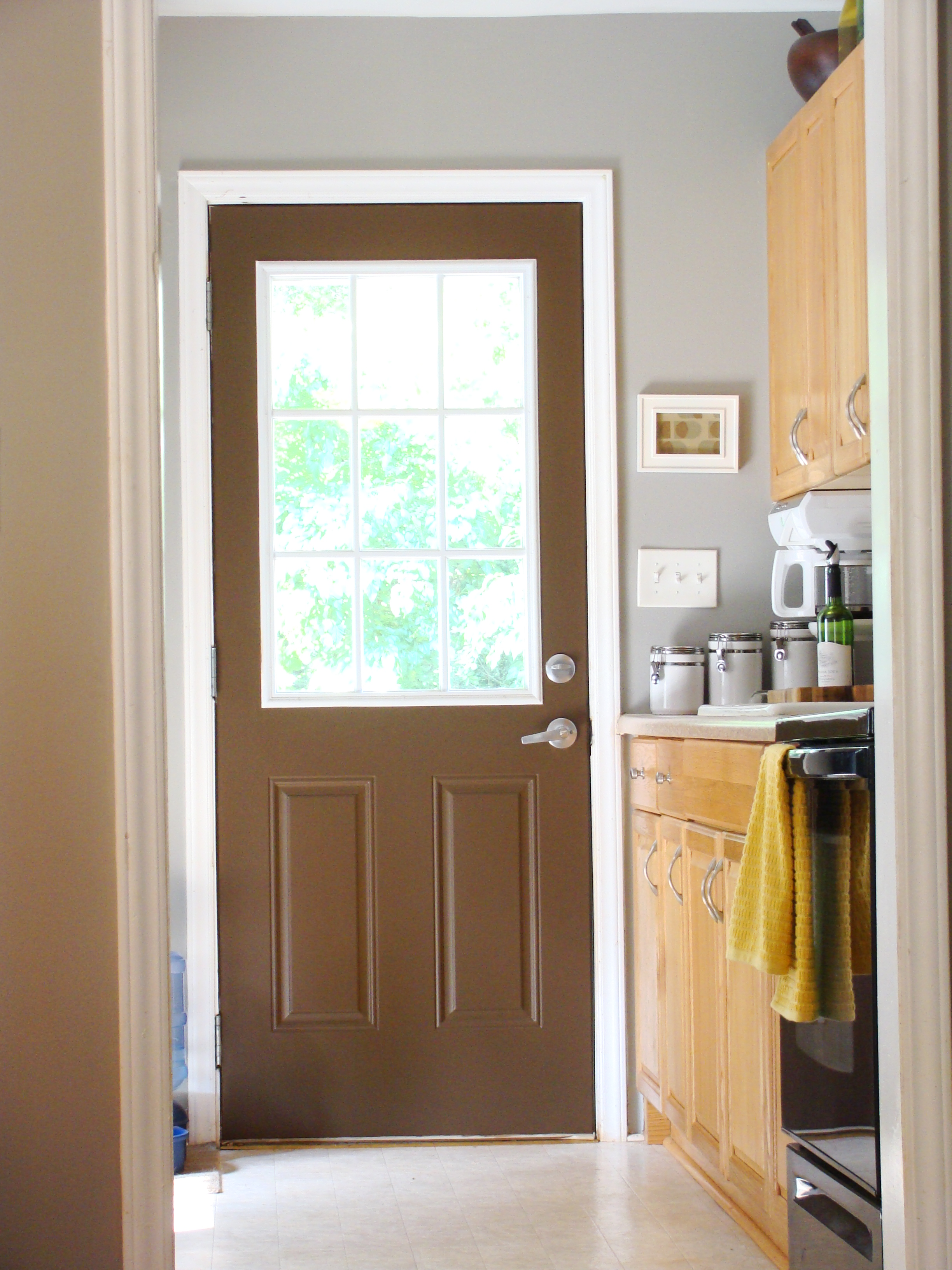 Kitchen page 2 for Back entry doors